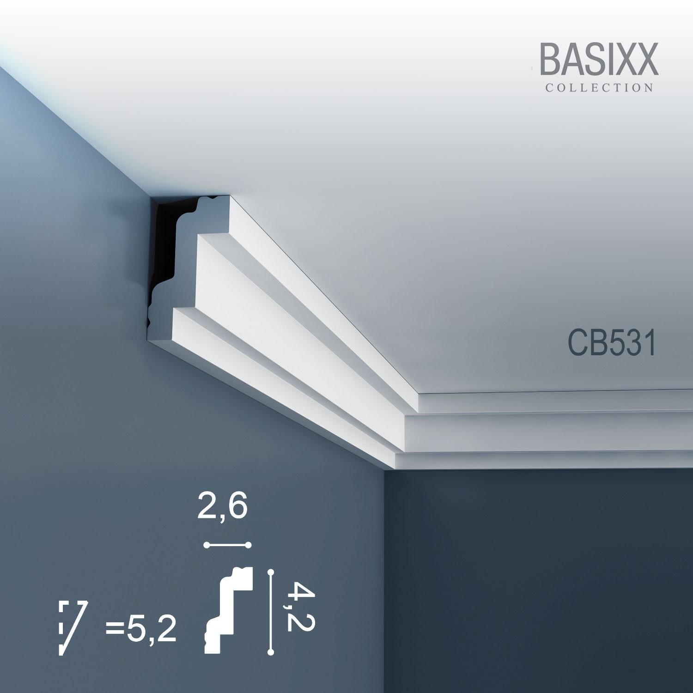 corniche moulure cimaise d coration de stuc orac decor cb531 basixx profil d coratif du mur et. Black Bedroom Furniture Sets. Home Design Ideas