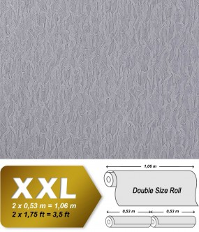 Wallpaper fabric textile look EDEM 930-37 luxury heavyweight non-woven blue-lilac silver shimmer | 10,65 sqm (114 sq ft)