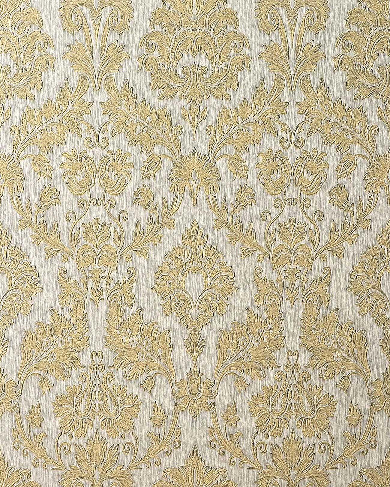 Barock Tapeten Retro Design Tapete : Embossed Gold Wallpaper Designs