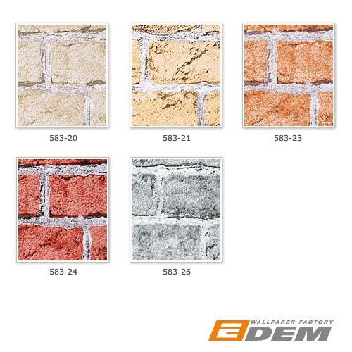 Papier peint design vintage rustique edem 583 23 aspect - Sous couche papier peint ...