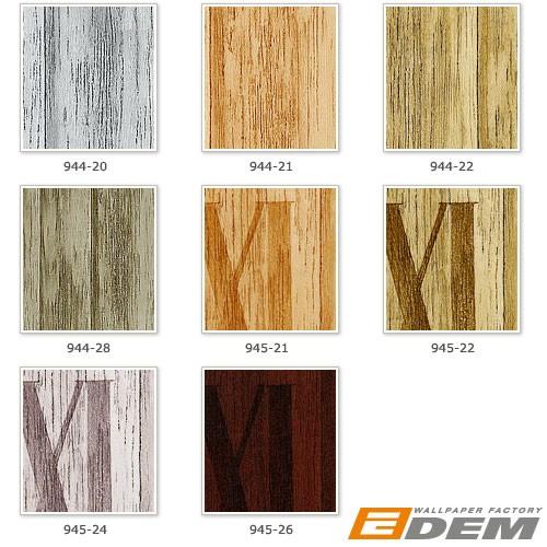 Papier peint intissé haut de gamme relief EDEM 945-24 aspect lambris ...