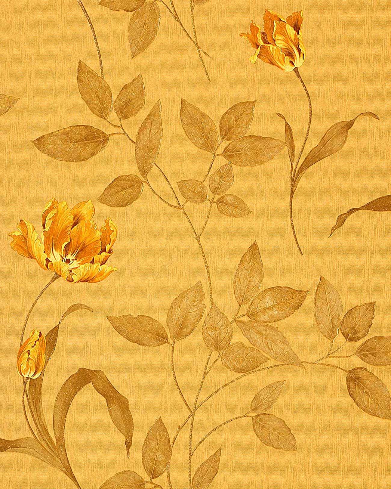 Carta da parati goffrata a fiori edem 769 32 carta da for Carta da parati di lusso
