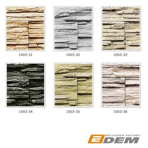 papier peint quartzite ardoise en relief 1003 32 vinyle. Black Bedroom Furniture Sets. Home Design Ideas