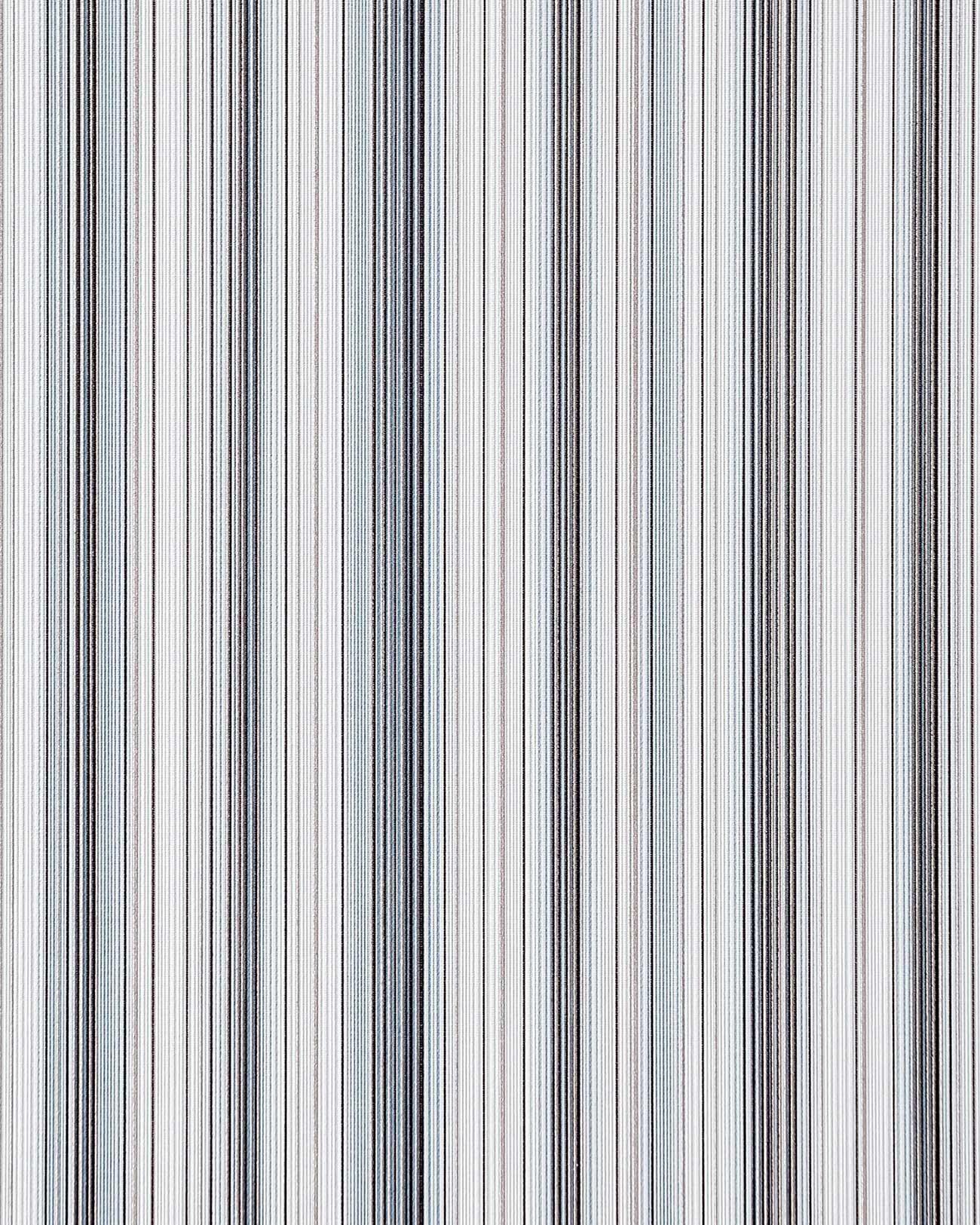 Papier peint en vinyle dessin rayures splendides edem for Papier peint raye gris et blanc