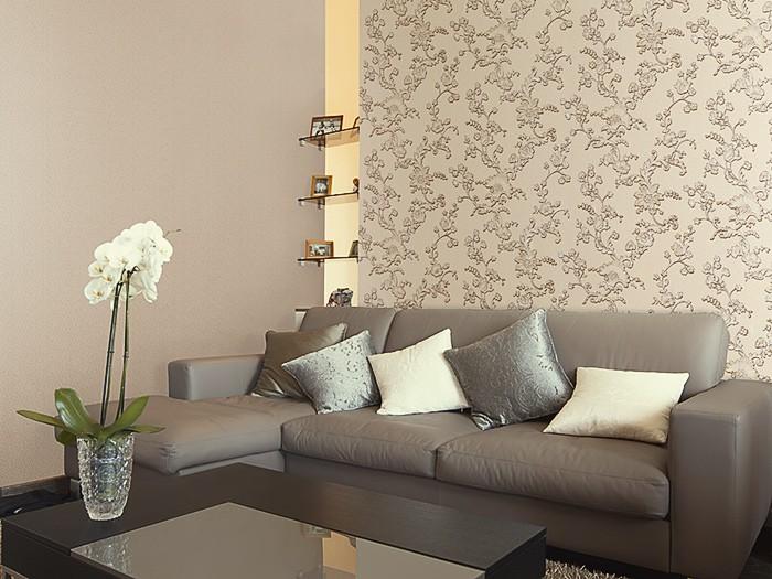 blumen vliestapete edem 919 38 tapete xxl luxus hochwertige 3d pr ge struktur floral gr n creme. Black Bedroom Furniture Sets. Home Design Ideas