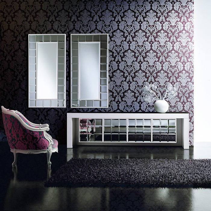 3d barock tapete vintage edem 752 35 luxus neo damask tapete cigar braun platin grau. Black Bedroom Furniture Sets. Home Design Ideas