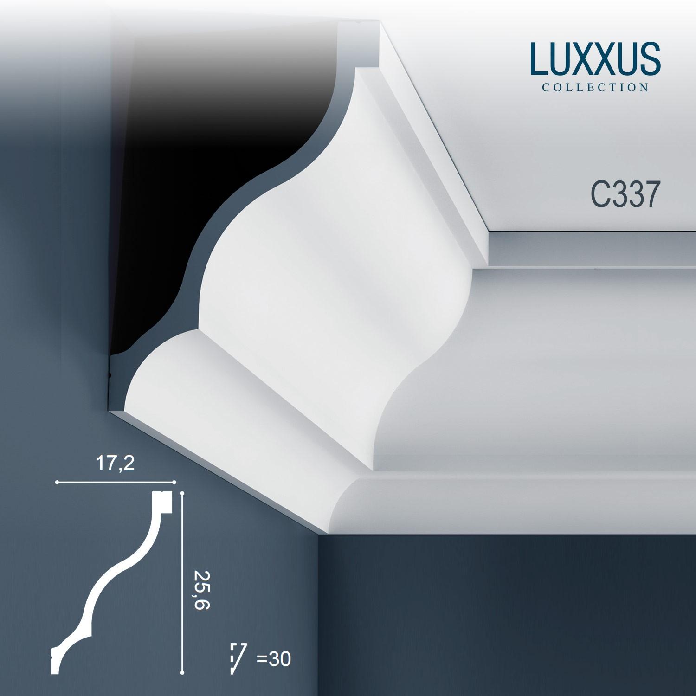moulure cimaise corniche d coration de stuc orac decor c337 luxxus profil el ment d coratif pour. Black Bedroom Furniture Sets. Home Design Ideas