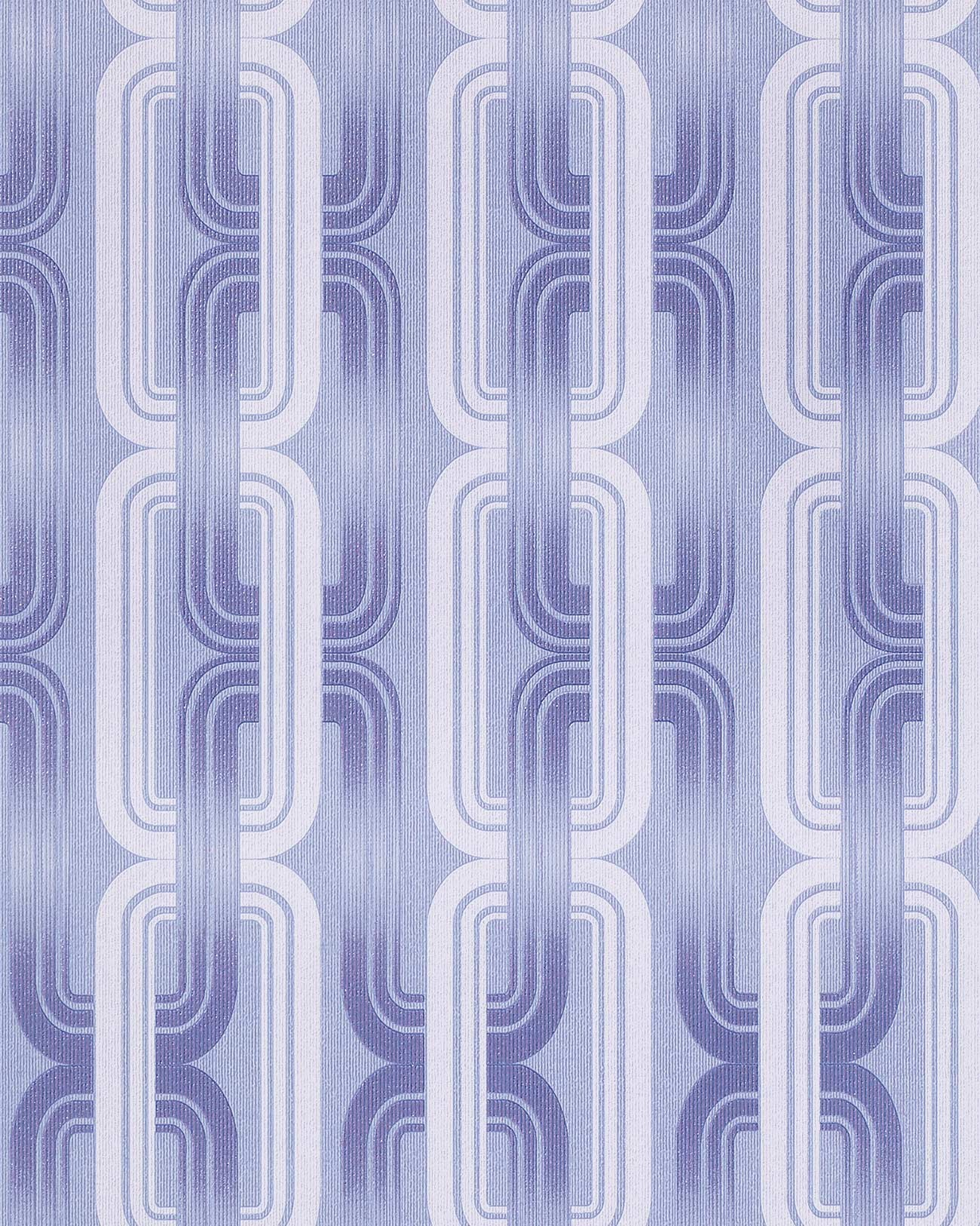 Tr s tendance ann es 70 retro papier peint edem 038 22 style graphiste blue l - Papier peint style annee 70 ...