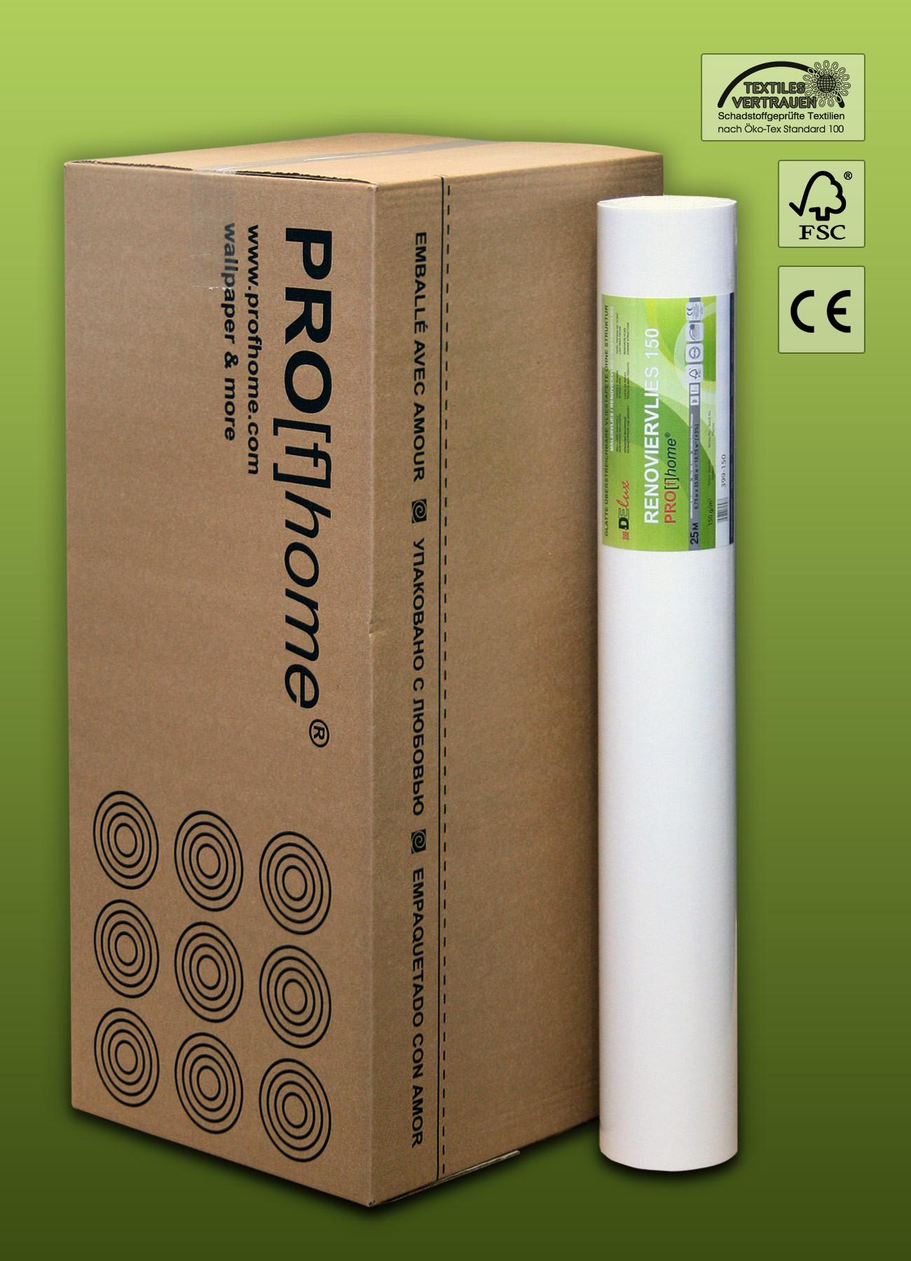 fibre de r novation non tiss peindre 150 g profhome 399 150 intiss de lissage professionnel. Black Bedroom Furniture Sets. Home Design Ideas