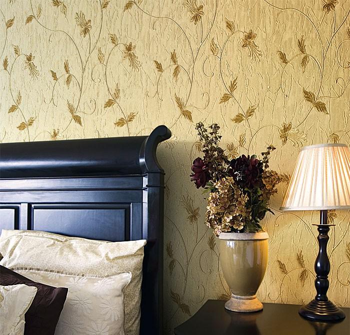 Papier peint intiss de luxe edem 935 30 motif floral gris clair bleu gris 10 65 m2 - Papier peint de luxe ...