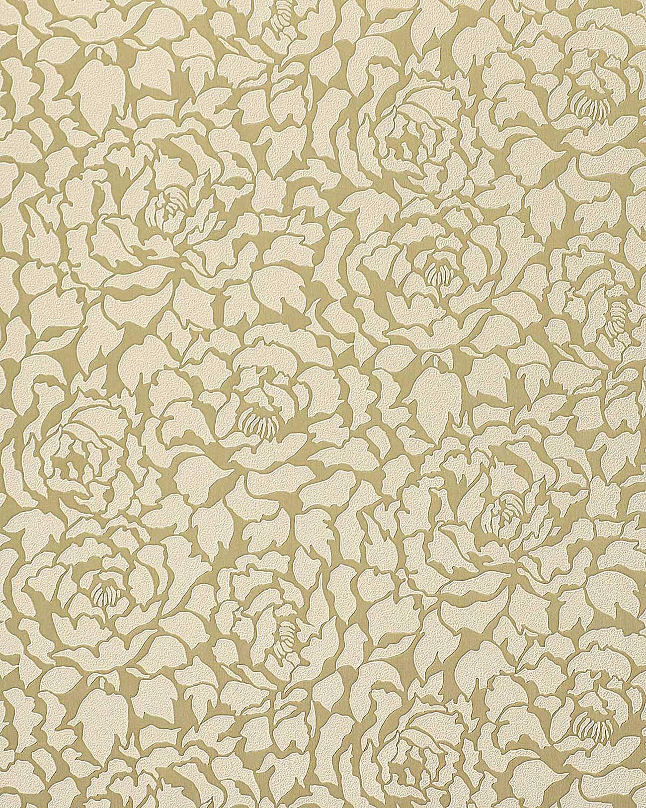 Papier Peint Deluxe Pivoines Fleurs Edem 830 22 Vanille