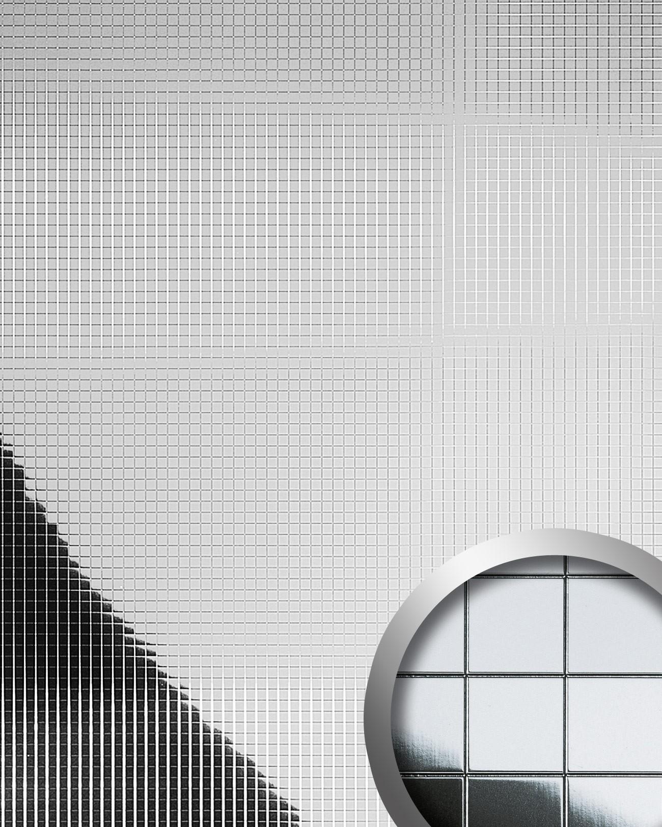 Design rev tement mural auto adh sif aimantin miroir wallface 10639 m style e - Panneaux muraux decoratifs design ...