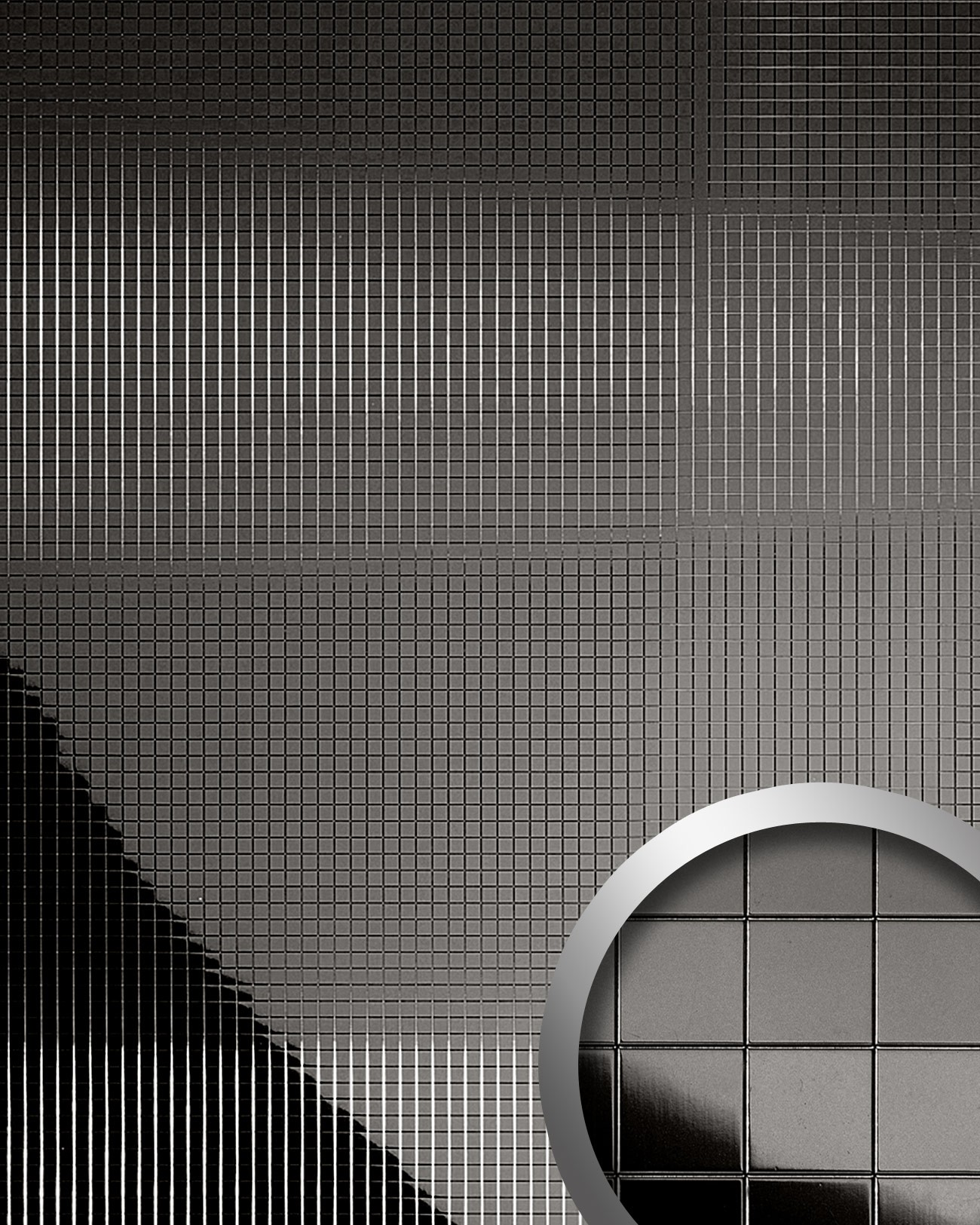 Design rev tement mural auto adh sif aimantin miroir wallface 10533 m style e - Panneaux muraux decoratifs design ...