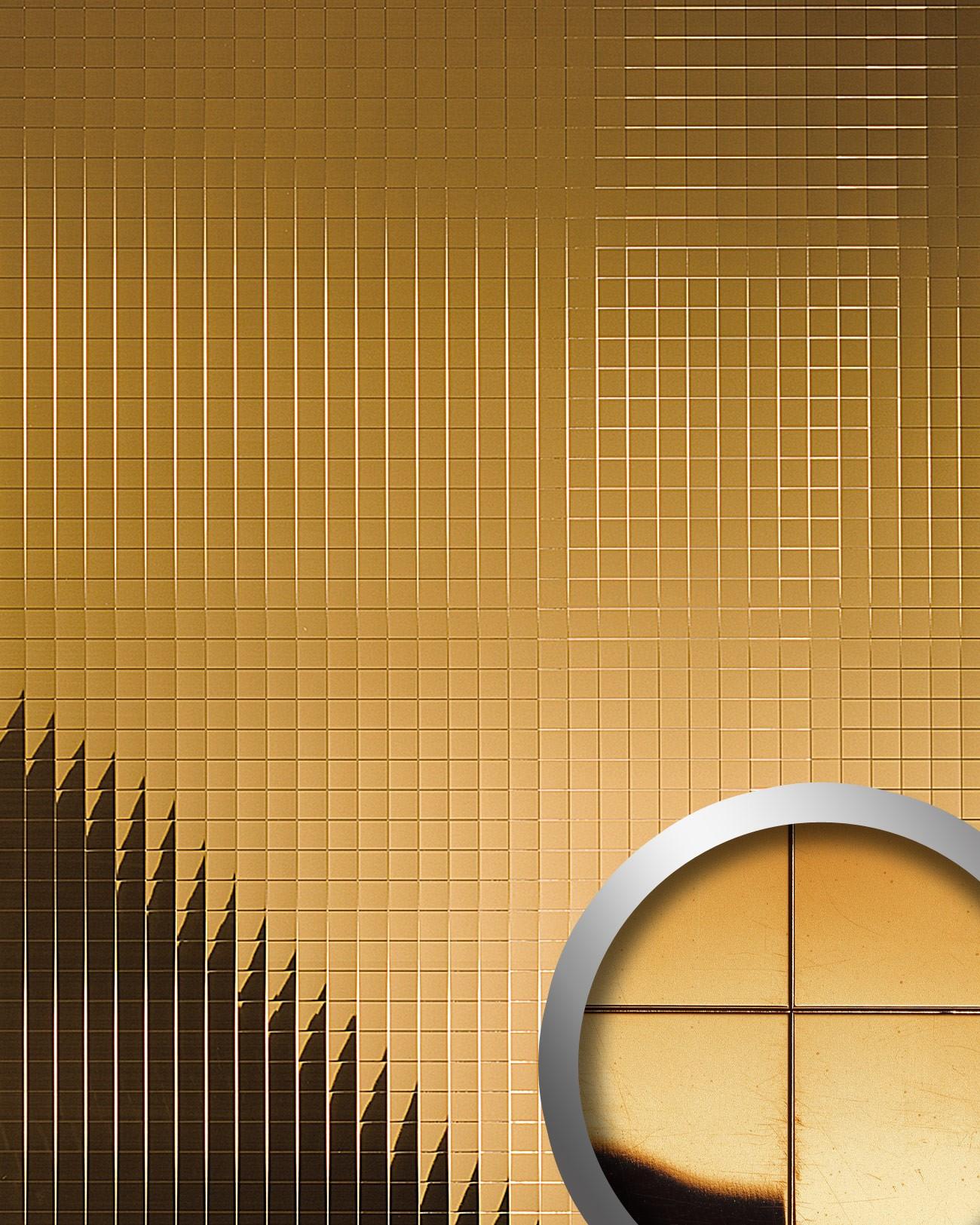 Design rev tement mural auto adh sif aimantin miroir wallface 10582 m style e - Revetement mural design ...