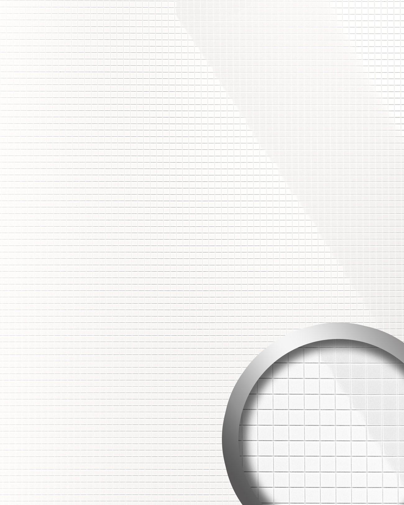 design rev tement mural auto adh sif aimantin miroir wallface 13476 m style en mosa que souple. Black Bedroom Furniture Sets. Home Design Ideas