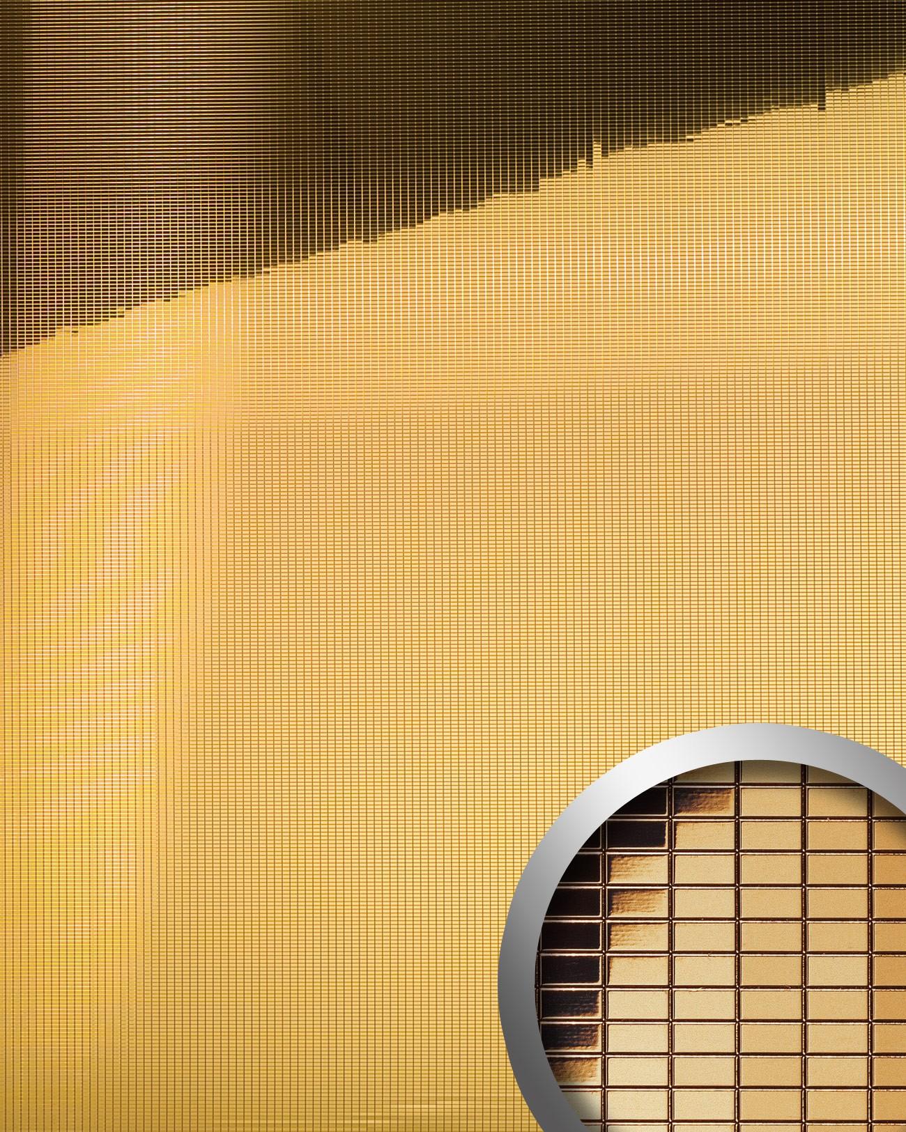 Design rev tement mural auto adh sif aimantin miroir wallface 10593 m style e - Panneaux muraux decoratifs design ...