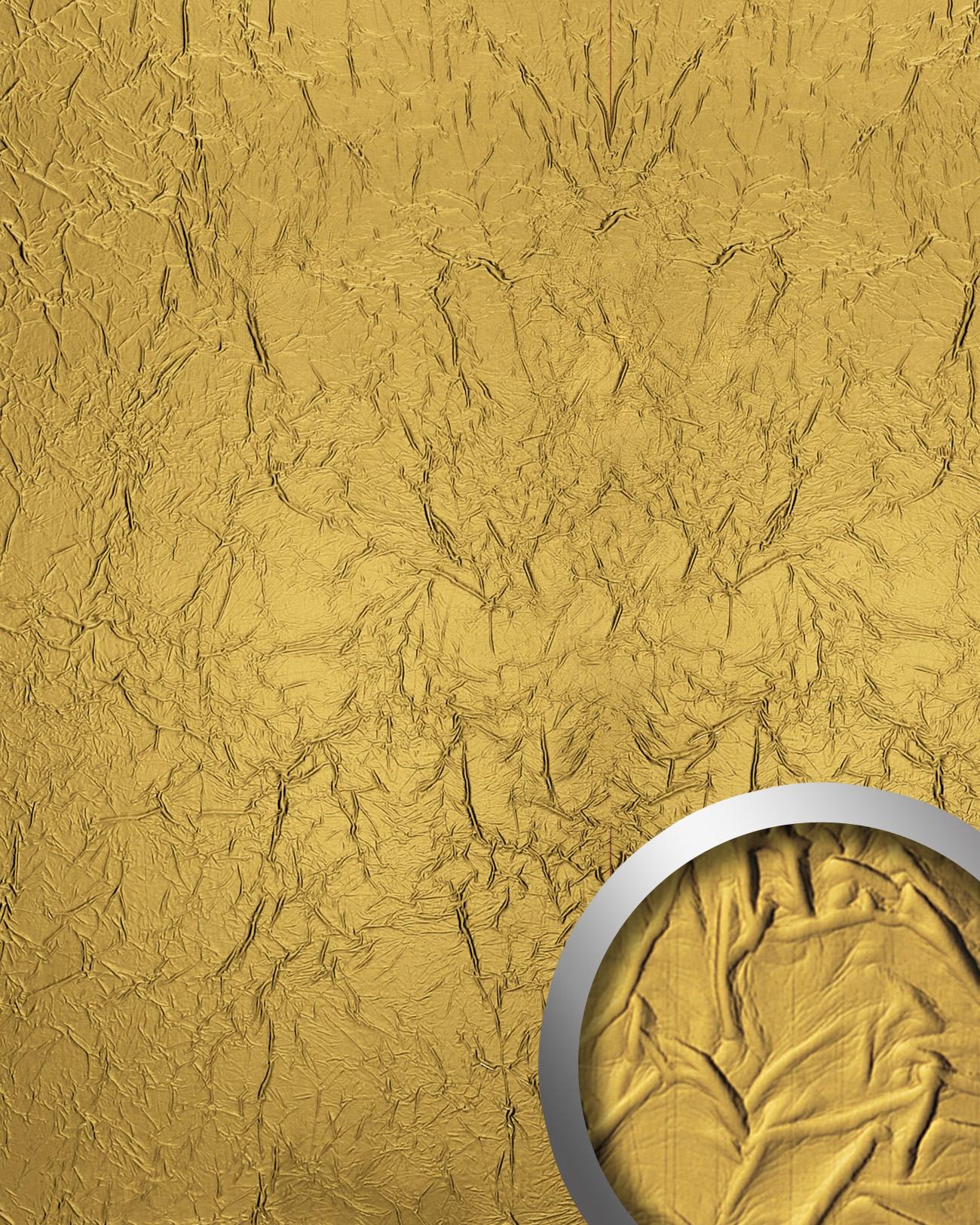 Crepa design rev tement mural auto adh sif wallface 13859 aimantin simili cui - Revetement mural simili cuir ...
