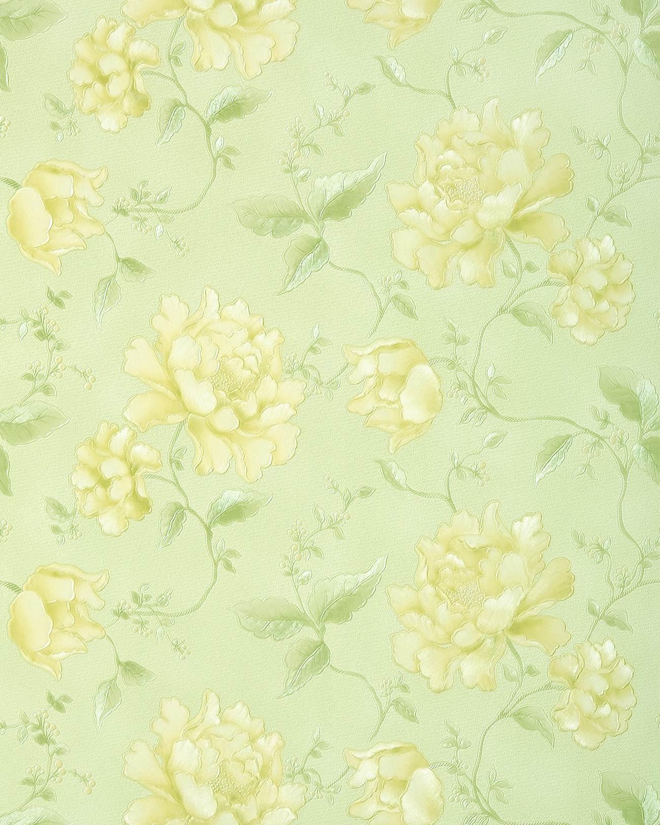 papier peint floral edem 748 38 avec effet 3d gaufr. Black Bedroom Furniture Sets. Home Design Ideas