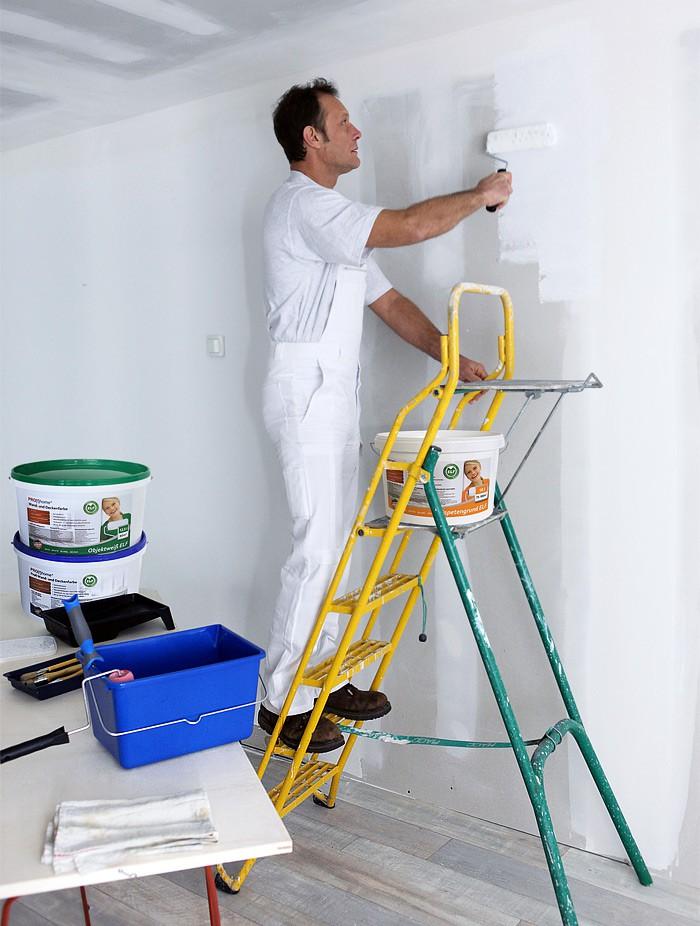 Peinture sous couche profhome appr t sp cial pour tapisser - Sous couche papier peint ...